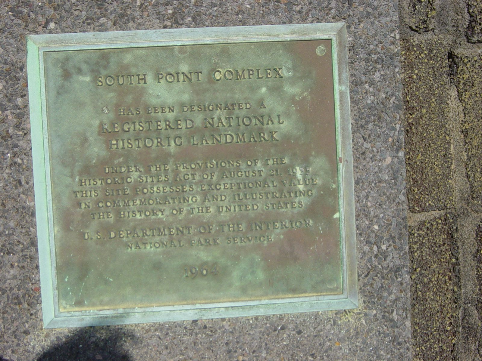 South Point complex Marker