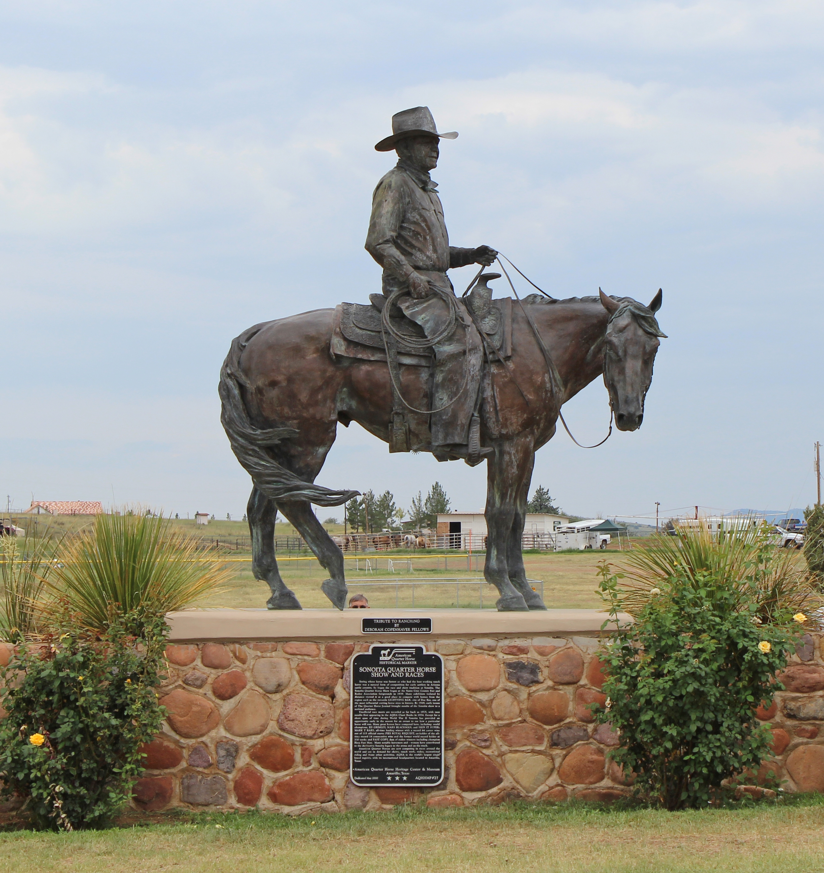Sonoita Quarter Horse Show and Races Marker